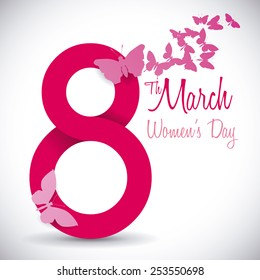women's day design, vector illustration eps10 graphic