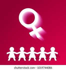 Women's day illustration