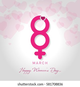 womens day vector illustration