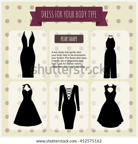 52ade0f4d3be0 Womens Dresses Vector Illustration Infographics Elements Dresses All ...