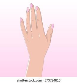 Women's hand