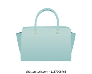 Women's Handbag Illustration.