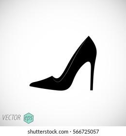 women's shoes.web icon. vector design