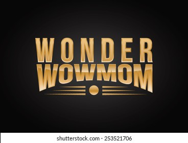 Wonder Wow-mom logo