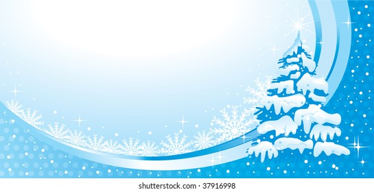 Wonderful Christmas illustration, beautiful piece for your design