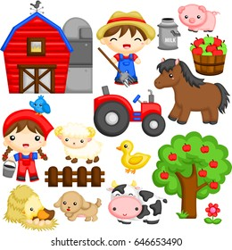 Wonderful farm life