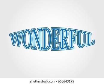 wonderful logo