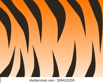 Wonderful simple design of the tiger skin