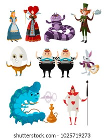 wonderland classic tale characters collection