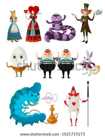wonderland classic tale characters
