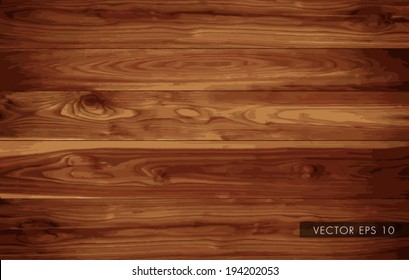 Wood board texture background - vector
