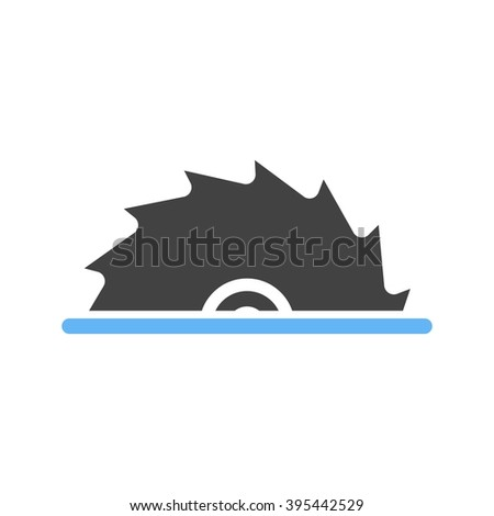 Wood Cutter Stock Vector Royalty Free 395442529 Shutterstock