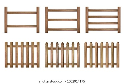 Wood Fence set