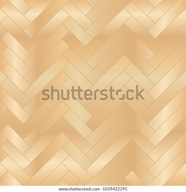 Wood floor parquet seamless pattern. Vector illustration