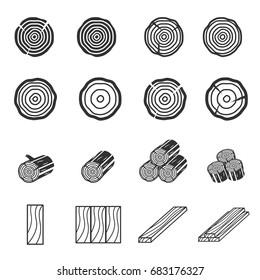 Wood Icons