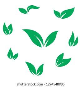 wood, leaf, organic eco icon