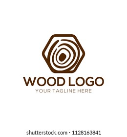Wood Logo Design