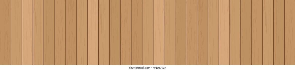 Wood plank texture for background. Vector illustration.