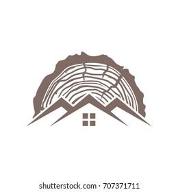 Wood Roof Logo