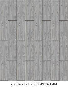 Wood sealess texture VECTOR template. Gray wood