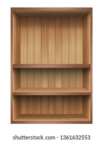 Wood shelf, Design component.