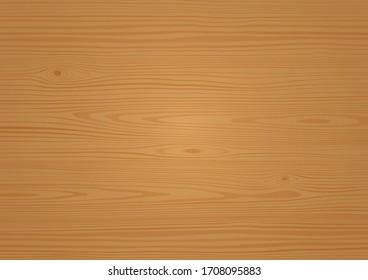 Wood Texture Brown Oak Effect Vector Illustration Background