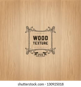 Wood texture template