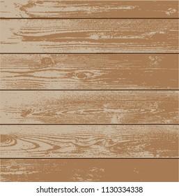 Wood texture - vector background