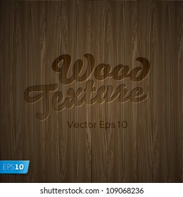 Wood texture, vector Eps10 illustration.