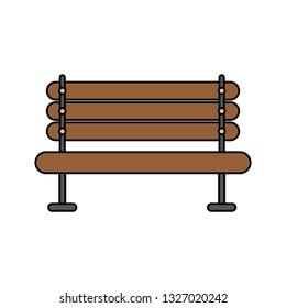 wooden bench furniture