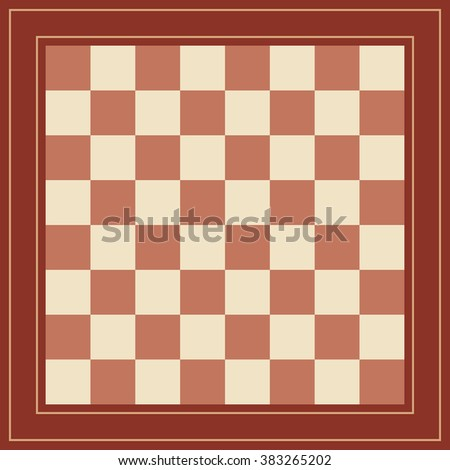 wooden chess board template design works stock vector royalty free