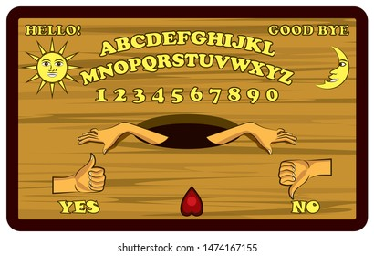 Ouija Board Images Stock Photos Vectors Shutterstock