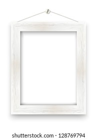 Wooden frame with place for text