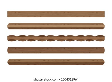 wooden lath different dark brown color isolated on white, wooden slat poles brown, lath wood for home decoration, wood slat posts, set of vertical slats plank, lumber wood brown, beautiful wooden dark