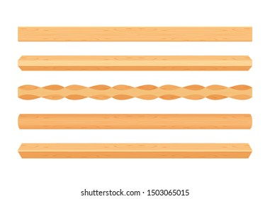 wooden lath different light brown color isolated on white, wooden slat poles brown, lath wood for home decoration, wood slat posts, set of vertical slats plank, lumber wood brown, beautiful wooden