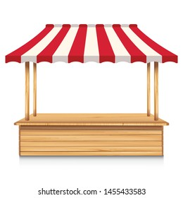 Wooden Stand Images, Stock Photos & Vectors | Shutterstock