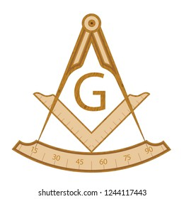 Masonic Square and Compass Images, Stock Photos & Vectors