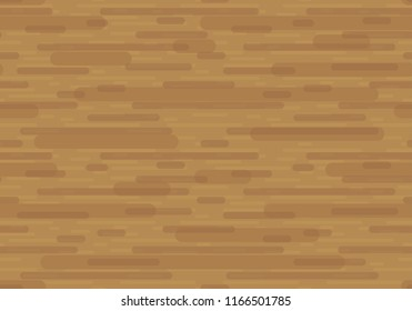 Wooden Seamless Pattern - Looped Simple Texture of Timber Material.