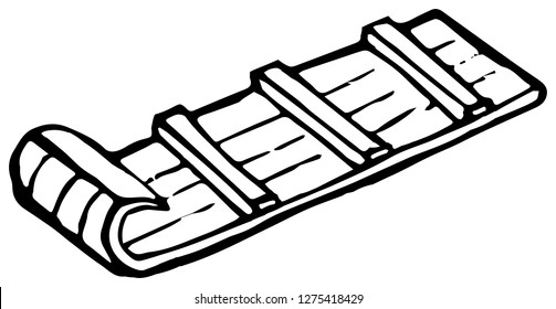 Wooden Sled Images Stock Photos Vectors