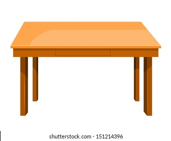 Table Cartoon Images Stock Photos Amp Vectors Shutterstock