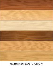Wooden texture seamless background. vector illustration.