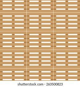 wooden transport pallet texture - vector