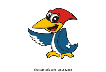 Woodpecker cartoon