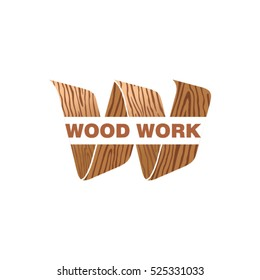Woodwork Logo Design.