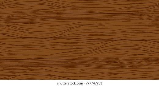 Woody texture. Seamless background. Painted wood texture in beige brown tones