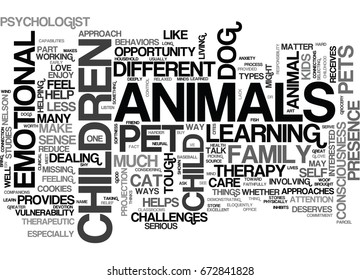 WOOF I CAN HELP TEXT WORD CLOUD CONCEPT