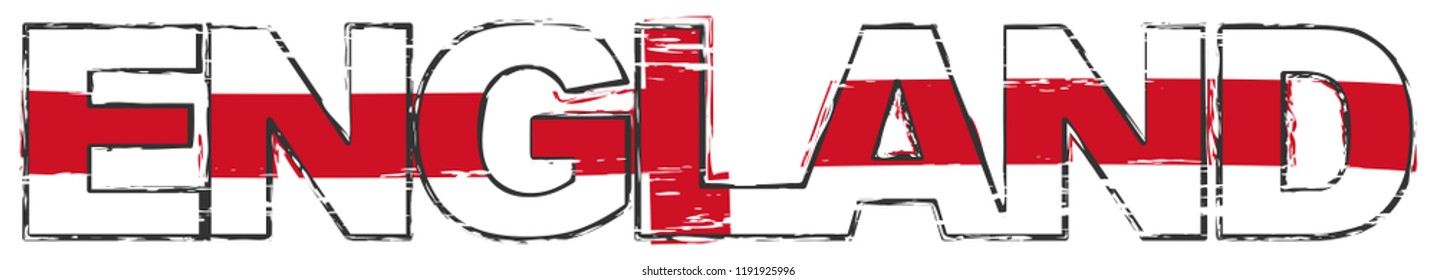England Word Stock Vectors Images Amp Vector Art Shutterstock