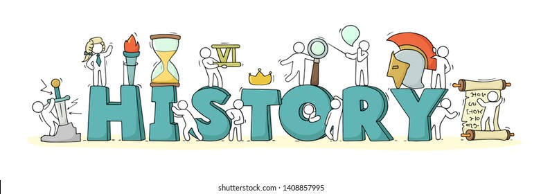 Learning History Cartoon Images, Stock Photos & Vectors | Shutterstock