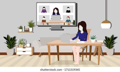 work from home ,corona virus