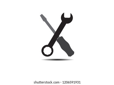 Work tool icon.Simple Tools or Repair Icon Vector illustration EPS10.